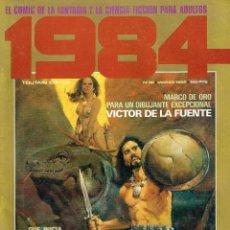 Cómics: CÓMIC '1984', Nº 38. MARZO 1982. EDITORIAL TOUTAIN. BUEN ESTADO.. Lote 210282348