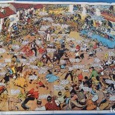 Cómics: POSTER RICARDO OPISSO -TOUTAIN EDITOR 1982 -HISTORIA DE LOS CÓMICS. Lote 210327463