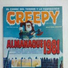 Cómics: CREEPY ALMANAQUE 1981/TOUTAIN EDITOR.. Lote 210380073
