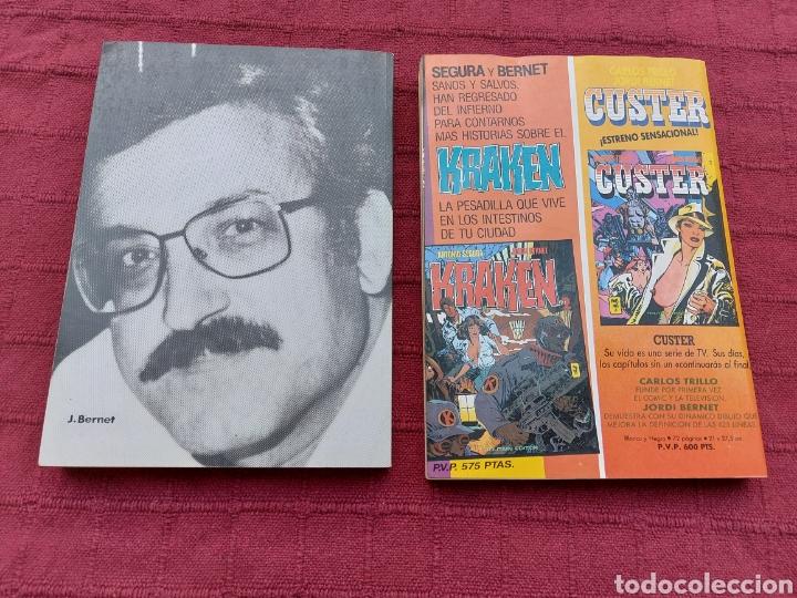 Cómics: ANDRAX COLECCIÓN COMPLETA DE COMIC EN DOS RETAPADOS 1AL 6 - 7 AL12-JORDI BERNET - Foto 2 - 210482791