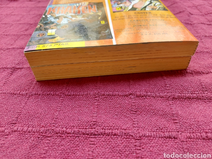 Cómics: ANDRAX COLECCIÓN COMPLETA DE COMIC EN DOS RETAPADOS 1AL 6 - 7 AL12-JORDI BERNET - Foto 7 - 210482791