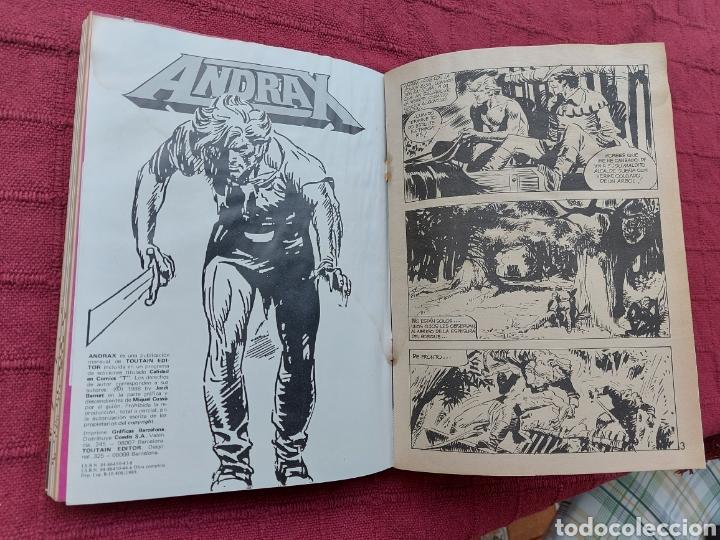Cómics: ANDRAX COLECCIÓN COMPLETA DE COMIC EN DOS RETAPADOS 1AL 6 - 7 AL12-JORDI BERNET - Foto 11 - 210482791