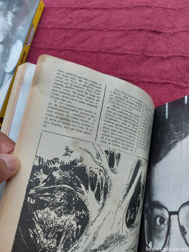 Cómics: ANDRAX COLECCIÓN COMPLETA DE COMIC EN DOS RETAPADOS 1AL 6 - 7 AL12-JORDI BERNET - Foto 15 - 210482791