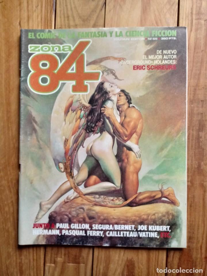 ZONA 84 Nº55 (Tebeos y Comics - Toutain - Zona 84)