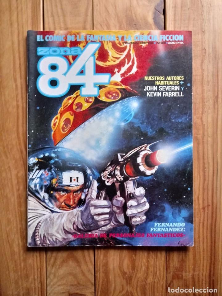 ZONA 84 Nº33 (Tebeos y Comics - Toutain - Zona 84)