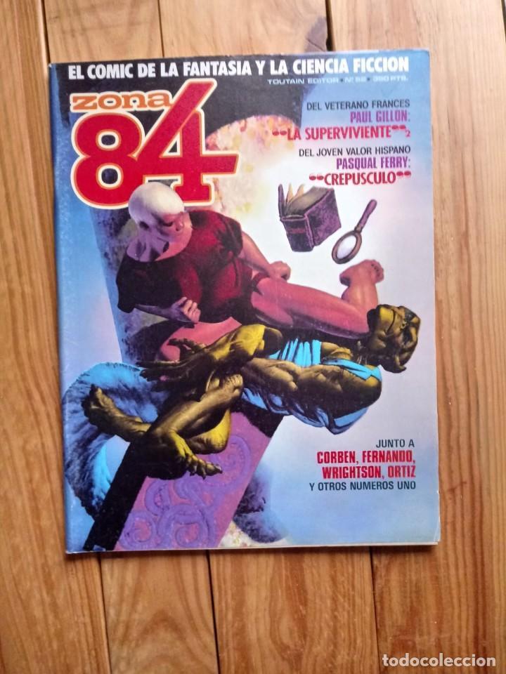 ZONA 84 Nº52 (Tebeos y Comics - Toutain - Zona 84)