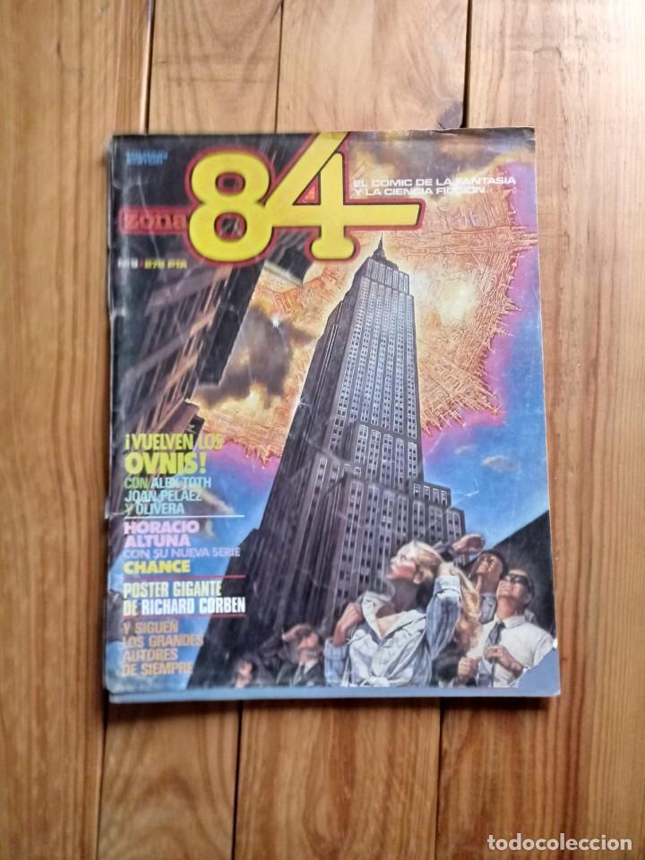 ZONA 84 Nº9 (Tebeos y Comics - Toutain - Zona 84)
