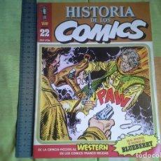 Cómics: HISTORIA DE LOS COMIC TOUTAIN Nº22 DE LA CIENCIA FICCION AL WESTERN EN LOS COMIC FRANCO-BELGAS 1982. Lote 210577641