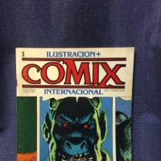 Cómics: COMIX INTERNACIONAL TOUTAIN NUMERO 1 27,5X21CMS. Lote 210762502