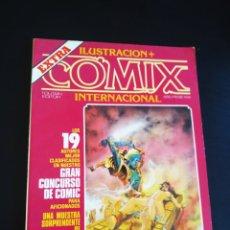 Cómics: MUY BUEN ESTADO ILUSTRACION + COMIX EXTRA CONCURSO INTERNACIONAL TOUNTAIN. Lote 210815871