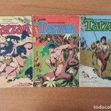 Cómics: LOTE DE 3 COMICS DE EL NUEVO TARZAN. EDGAR RICE BURROUGHS. EDITORIAL TOUTAIN. Nº 1, 3 Y 5.. Lote 211460252