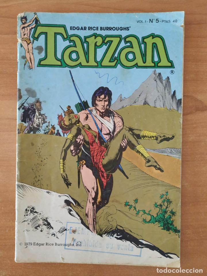 EL NUEVO TARZAN. EDGAR RICE BURROUGHS. Nº 5. TOUTAIN EDITOR. (Tebeos y Comics - Toutain - Otros)