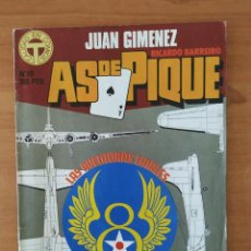 Cómics: AS DE PIQUE. JUAN GIMÉNEZ. RICARDO BARREIRO. TOUTAIN EDITOR. Nº 10.. Lote 211463081
