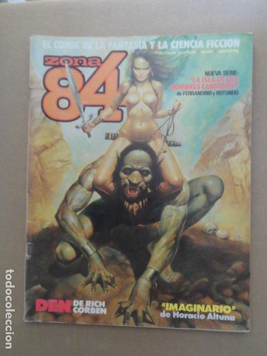 ZONA 84 Nº 60 EDITORIAL TOUTAIN (Tebeos y Comics - Toutain - Zona 84)