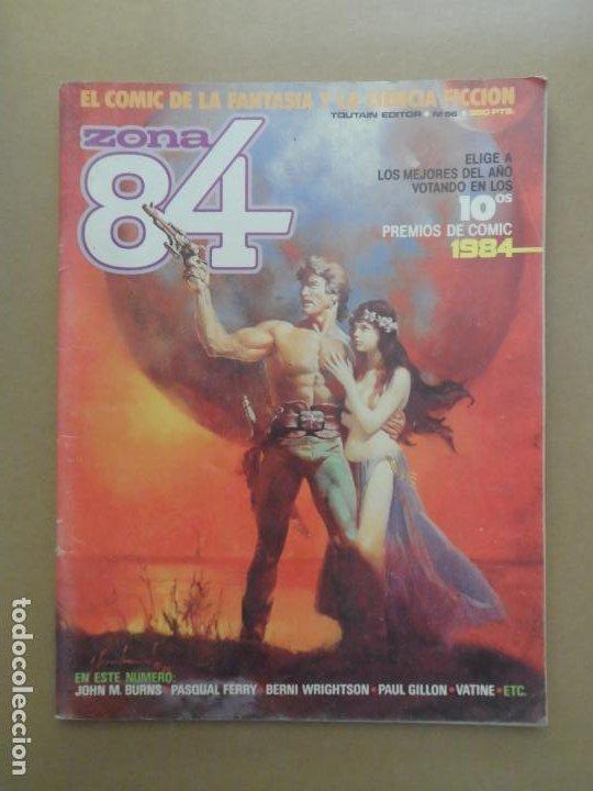 ZONA 84 Nº 56 EDITORIAL TOUTAIN (Tebeos y Comics - Toutain - Zona 84)