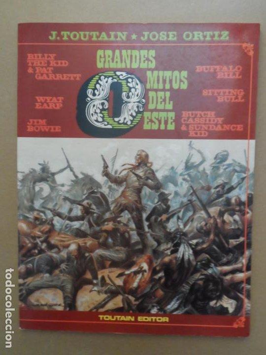 GRANDES MITOS DEL OESTE - VOLUMEN 2 - EDITORIAL TOUTAIN 1988 JOSE ORTIZ (Tebeos y Comics - Toutain - Otros)