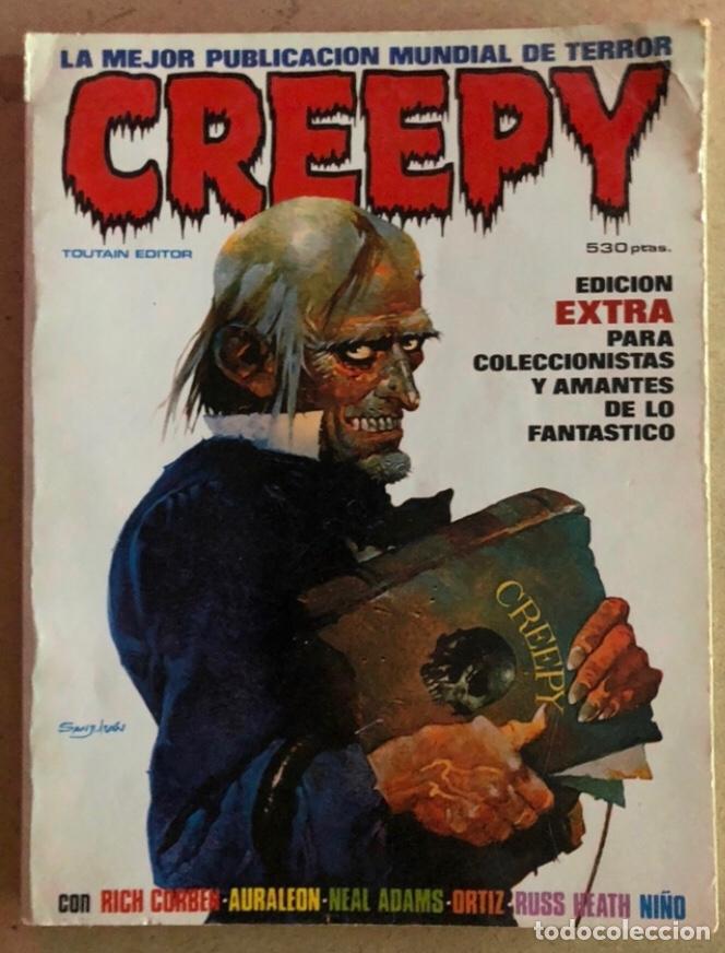 CREEPY EDICIÓN EXTRA N° 1 (TOUTAIN EDITOR 1979). INCLUYE 5 NÚMEROS. (Tebeos y Comics - Toutain - Creepy)