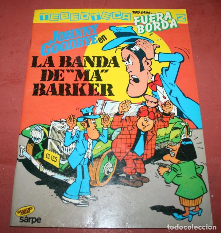 """JOHNNY GOODBYE EN LA BANDA DE """"MA"""" BAKER - LODEWIJK/ATTANASIO - SARPE - 1984 (Tebeos y Comics - Toutain - Álbumes)"""