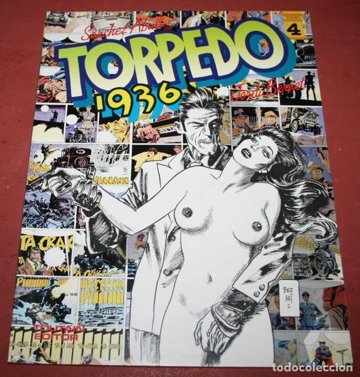 TORPEDO 1936 - ABULI/BERNET - TOMO 4 - TOUTAIN 1986 (Tebeos y Comics - Toutain - Álbumes)