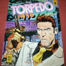 Cómics: TORPEDO 1936 - ABULI/BERNET - TOMO 3 - TOUTAIN - 1985. Lote 212222707