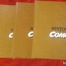 Fumetti: HISTORIA DE LOS COMICS - COLECCION COMPLETA 4 VOLUMENES - CARTONE. Lote 212320675