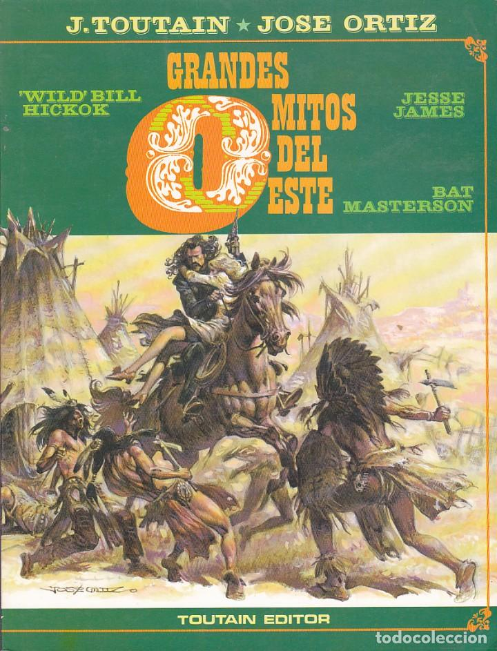 COLECCION 2 TOMOS GRANDES MITOS DEL OSTE J.TOUTAIN JOSE ORTIZ TOUTAIN EDITOR (Tebeos y Comics - Toutain - Obras Completas)