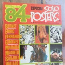 Comics : ZONA 84. ESPECIAL SOLO POSTERS 2. TOUTAIN. Lote 212428445