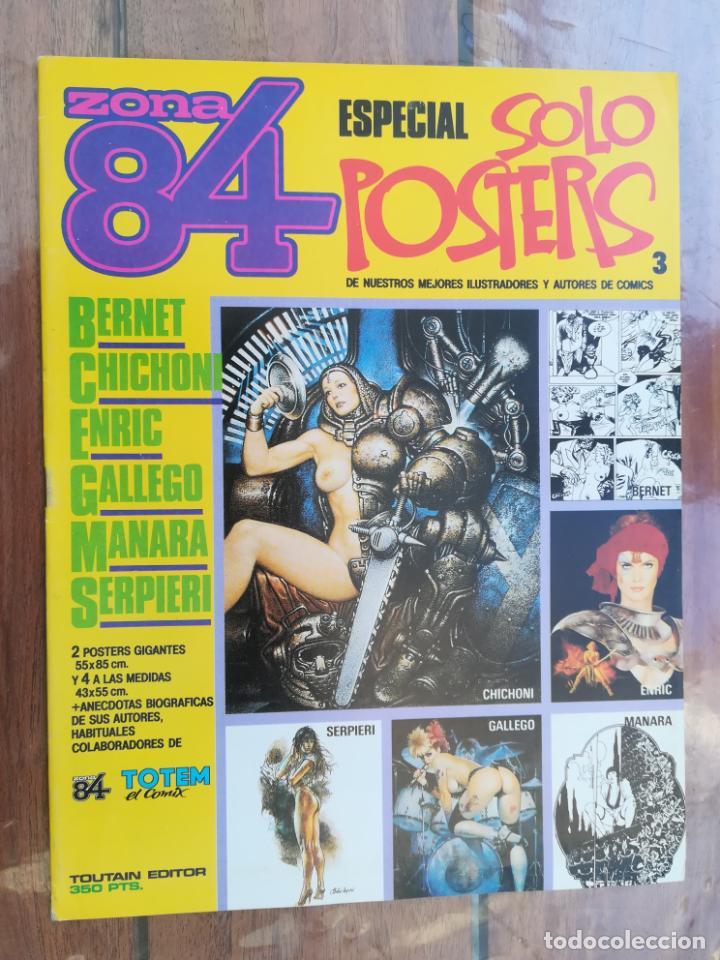 ZONA 84. ESPECIAL SOLO POSTERS 3. TOUTAIN (Tebeos y Comics - Toutain - Zona 84)