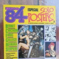 Comics : ZONA 84. ESPECIAL SOLO POSTERS 3. TOUTAIN. Lote 212428541