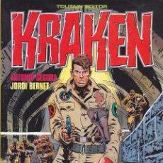 Comics : COLECCION COMPLETA KRAKEN 3 TOMOS TOUTAIN EDITOR BERNET. Lote 212464112