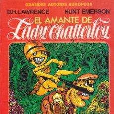 Cómics: COMIC GRANDES AUTORES EUROPEOS EL AMANTE DE LADY CHATTERLEY. Lote 212513742
