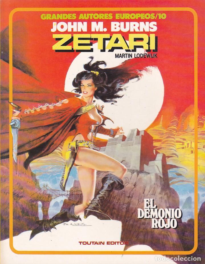 COMIC GRANDES AUTORES EUROPEOS ZETARI JOHN M. BURNS (Tebeos y Comics - Toutain - Álbumes)
