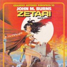 Cómics: COMIC GRANDES AUTORES EUROPEOS ZETARI JOHN M. BURNS. Lote 212514015