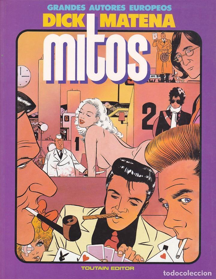 COMIC GRANDES AUTORES EUROPEOS MITOS DICK MATENA (Tebeos y Comics - Toutain - Álbumes)