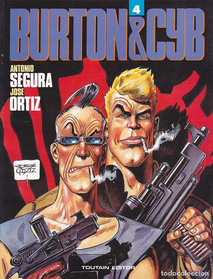 COMIC BURTON & CYB Nº 4 TOUTAIN EDITOR (Tebeos y Comics - Toutain - Álbumes)