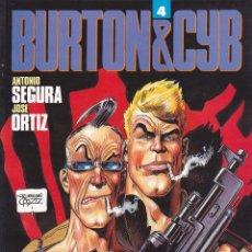 Cómics: COMIC BURTON & CYB Nº 4 TOUTAIN EDITOR. Lote 212514895