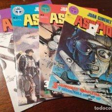 Comics : LOTE AS DE PIQUE NÚM 1+2+3+4. Lote 212869337