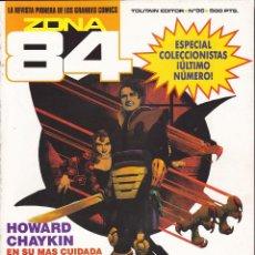 Comics : COMIC COLECCION ZONA 84 Nº 96 ULTIMO NUMERO. Lote 212990326