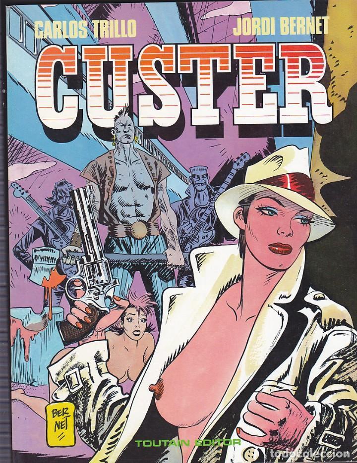 COMIC CUSTER JORDI BERNET TOUTAIN EDITOR (Tebeos y Comics - Toutain - Álbumes)