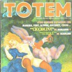 Fumetti: TOTEM EL COMIX. OTRO NUMERO EXPLOSIVO CON MANARA, FONT, ALTUNA, BUCQUOY, COSSU. Nº 23. A-COMIC-5592. Lote 213103546