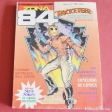 Comics : ZONA 84 - EDICION RETAPADA - ROCKETEER - Nº 86 - Nº 87 - Nº88. Lote 213139760