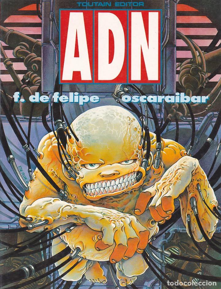 COMIC ADN TOUTAIN EDITOR (Tebeos y Comics - Toutain - Álbumes)