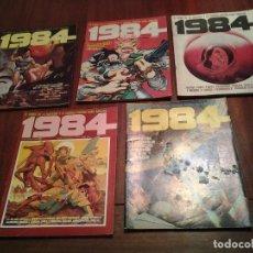 Cómics: 1984 Nº 3 -23 -28 - 52 -61 - TOUTAIN EDITOR - BUEN ESTADO - VER DESCRIPCION. Lote 213434128