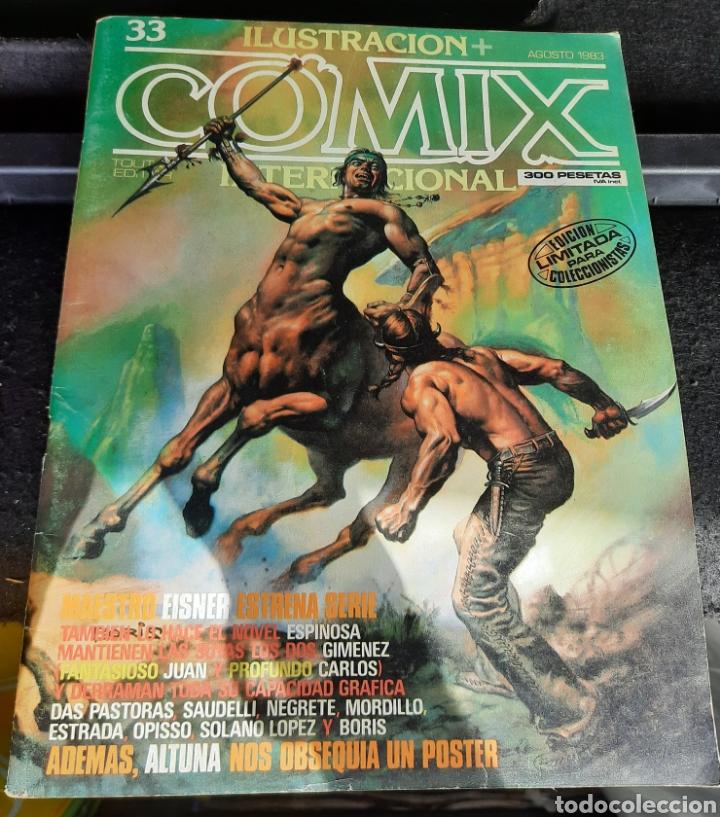 CÓMIX INTERNACIONAL NUMERO 33. NO CONTIENE EL POSTER (Tebeos y Comics - Toutain - Comix Internacional)