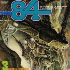 Cómics: ZONA 84 Nº 3. IGOR KORDEJ. ABULI. BERNET. Lote 213528896