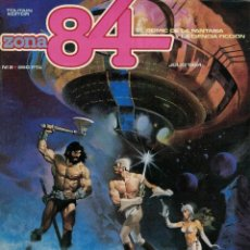 Cómics: ZONA 84 Nº 2. ESPECIAL 4º SALÓN DEL COMIC. CORBEN. GIMÉNEZ. FERNÁNDEZ. PRADO. MANDRAFINA. TRILLO. Lote 213529997