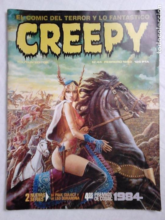 REVISTA CREEPY N.º 44 (FEBRERO 1983) - EL CÓMIC DEL TERROR Y LO FANTÁSTICO (Tebeos y Comics - Toutain - Creepy)