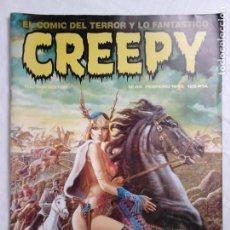 Cómics: REVISTA CREEPY N.º 44 (FEBRERO 1983) - EL CÓMIC DEL TERROR Y LO FANTÁSTICO. Lote 213592353