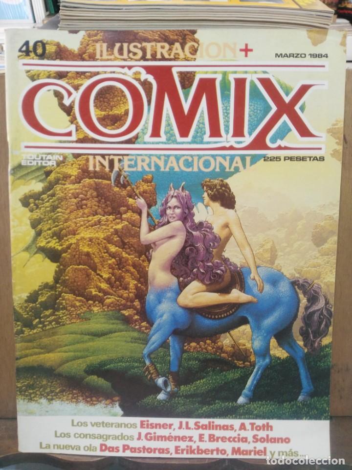 COMIX INTERNACIONAL - Nº 40 - ED. TOUTAIN (Tebeos y Comics - Toutain - Comix Internacional)