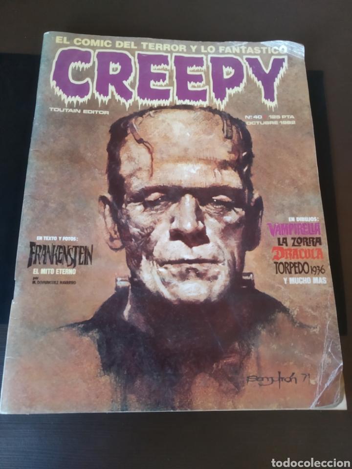 REVISTA COMIC CREEPY NÚMERO 40 (Tebeos y Comics - Toutain - Creepy)